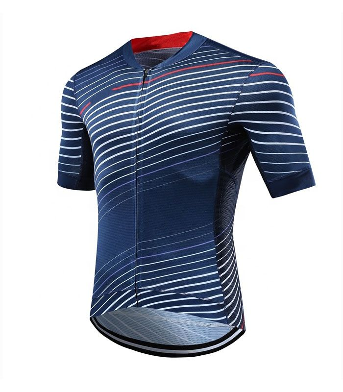 High Quality Mens Custom Cycling Shirt Manufacturer