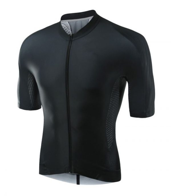 Wholesale Mens Black Cycling Shirt
