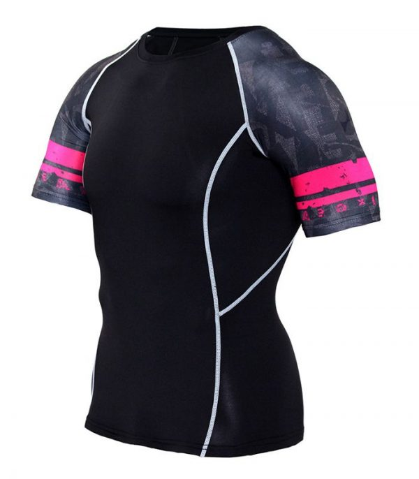 Pink Black High Quality Cycling Jersey Manufacturer