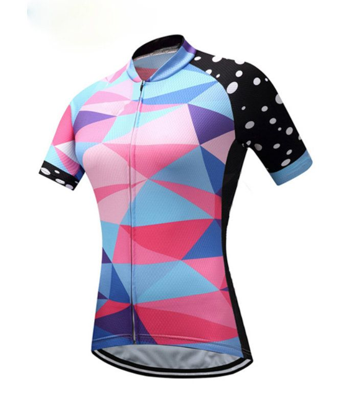 Womens Sublimated Cycling Shirt Manufacturer